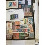 STAMPS WORLD, box with mostly European countries, Singapore, French & Italian Colonies,