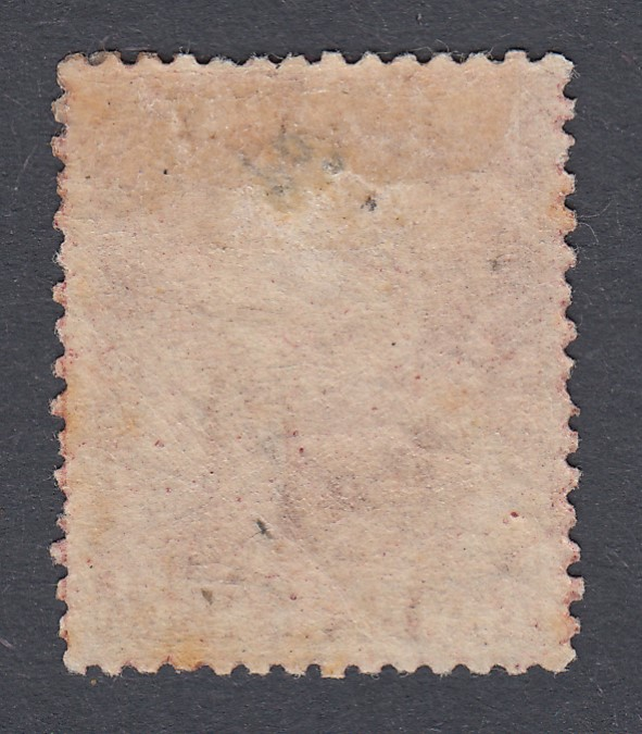 STAMPS BARBADOS 1873 3d Brown-Purple, - Image 2 of 2