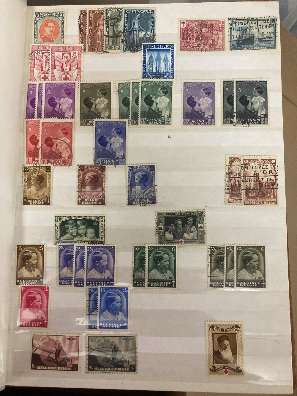 STAMPS Accumulation in four stock books, including early GB, Hungary, Belgium and Commonwealth. - Image 4 of 4