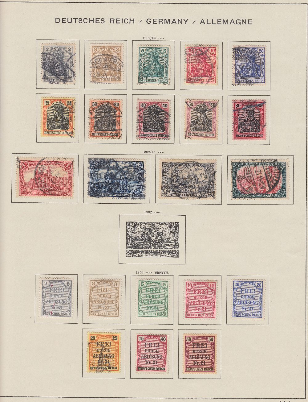 STAMPS : Two large Schaubek albums with Europe up to 1933, reasonably well filled. - Image 4 of 4
