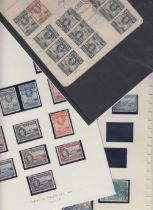 STAMPS : BRITISH COMMONWEALTH, selection of mint & used sets etc on stock pages,