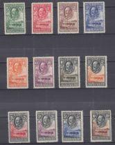 STAMPS : BRITISH AFRICA, selection of QV to GV mint issues and sets on stockpages.