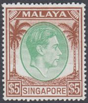 STAMPS : BRITISH COMMONWEALTH, a fine collection of mint George VI complete sets in an album.