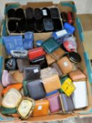 A large selection of unused travelling alarm clocks and Sekonda watches