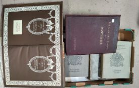 """""""Royal Commission of Historical Monuments"""", 3 vols; """"Houses & Gardens by E L Lutyens""""; """"The"""