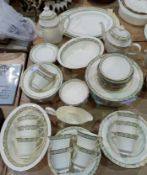 A Minton Wimbledon dinner and tea service approx 60 peices