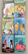 6 P.G. Woodehouse 1st editions in dust jackets