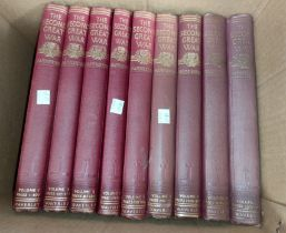 """The Second Great War"", Sir John Hammerton, 9 volumes"