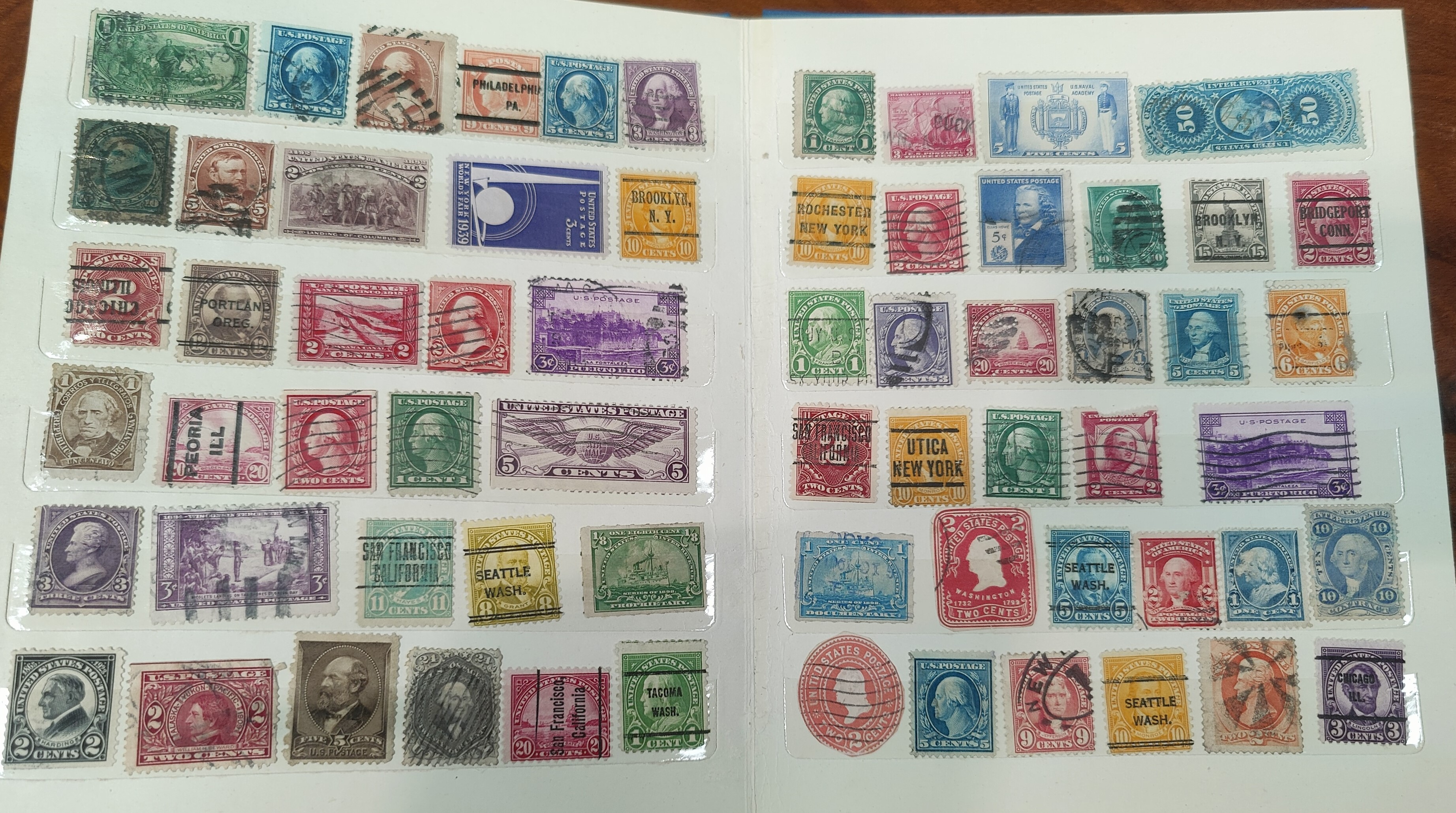 A collection of American stamps - Image 2 of 2