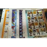 """A collection of 10 Royal Mail """"Smilers"""" sheets, 200 1st class stamps 2002/2003"""