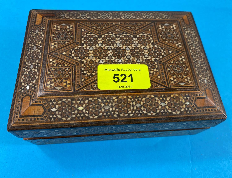 A hallmarked silver Vesta case, Swiss army knife etc - Image 2 of 2