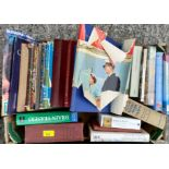 A selection of books on the Royal Family etc