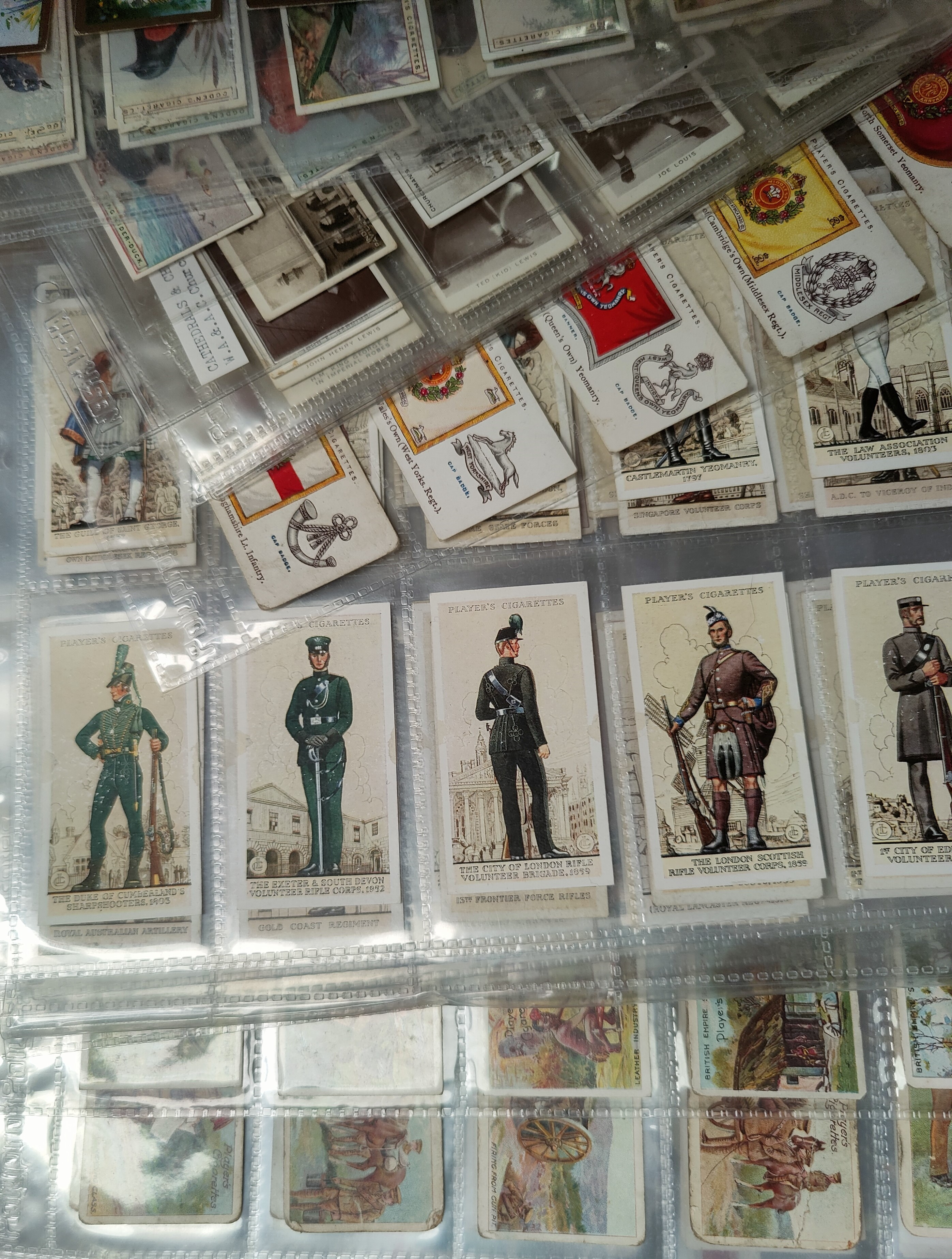 110 assorted sheets of spare and part set cigarette cards including Players, Ogden etc - Image 5 of 5