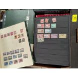 A quantity of British Commonwealth stamps in albums and stockbooks
