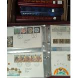 GB: a collection of FDC's mainly 1990's, 4 albums + loose.