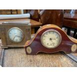 Two early/mid 20th century mantel clocks