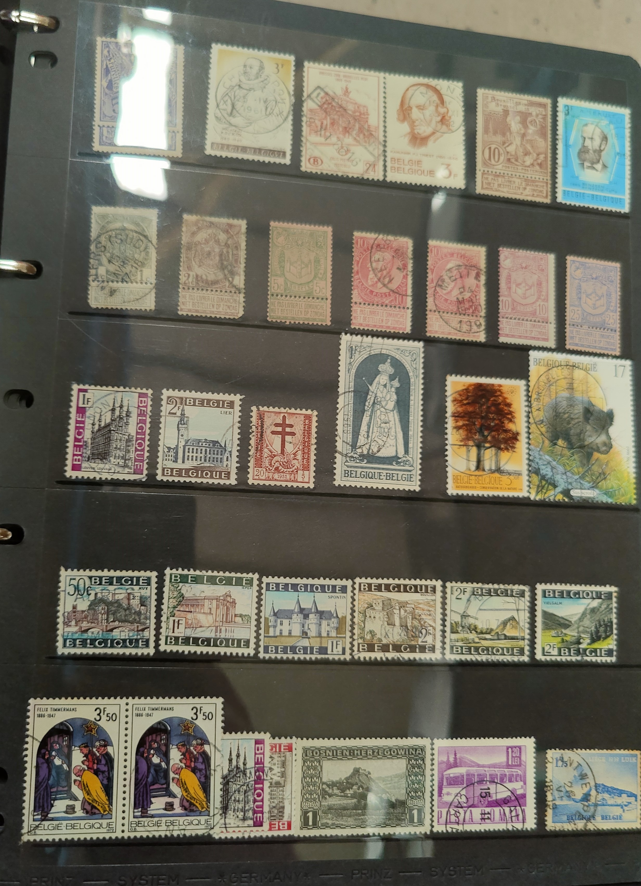 An album of stamps to include GERMANY (some 3rd Reich) and two albums, Austria, France Italy and - Image 2 of 4