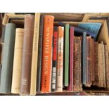 Books on printing including A Specimen Bok of Fine Printing Inks (Coates Brothers)