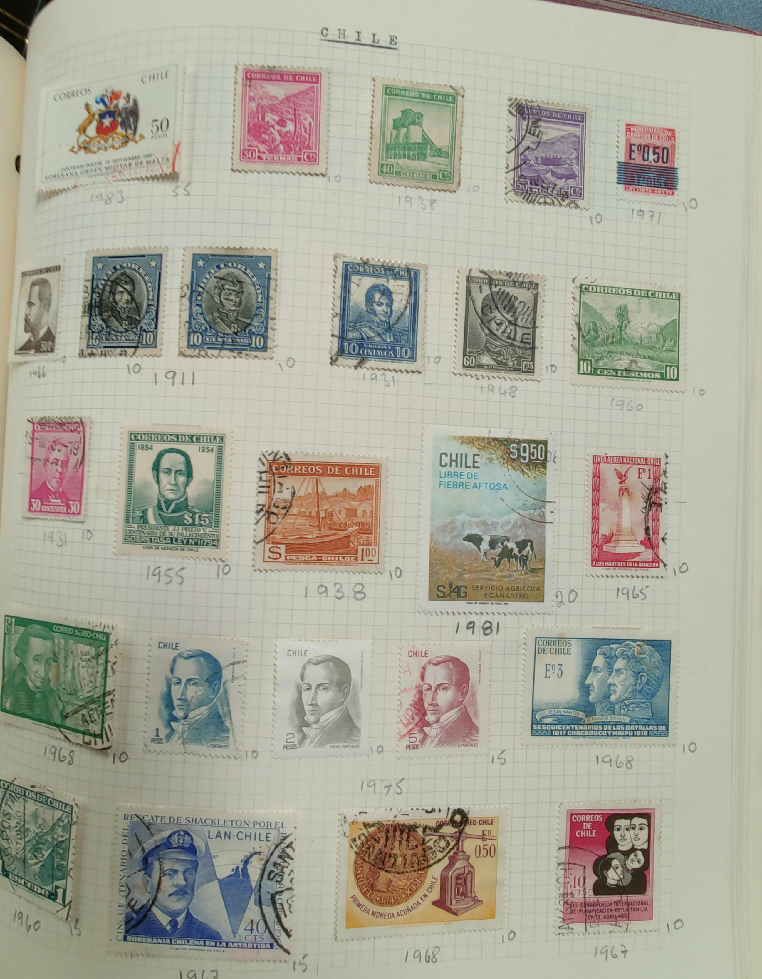 A very nicely presented world collection of stamps in 4 Stanley Gibbons Devon loose-leaf albums with - Image 20 of 23