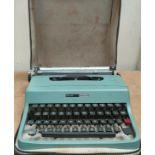 A vintage typewriter Olivetti Lettera 32