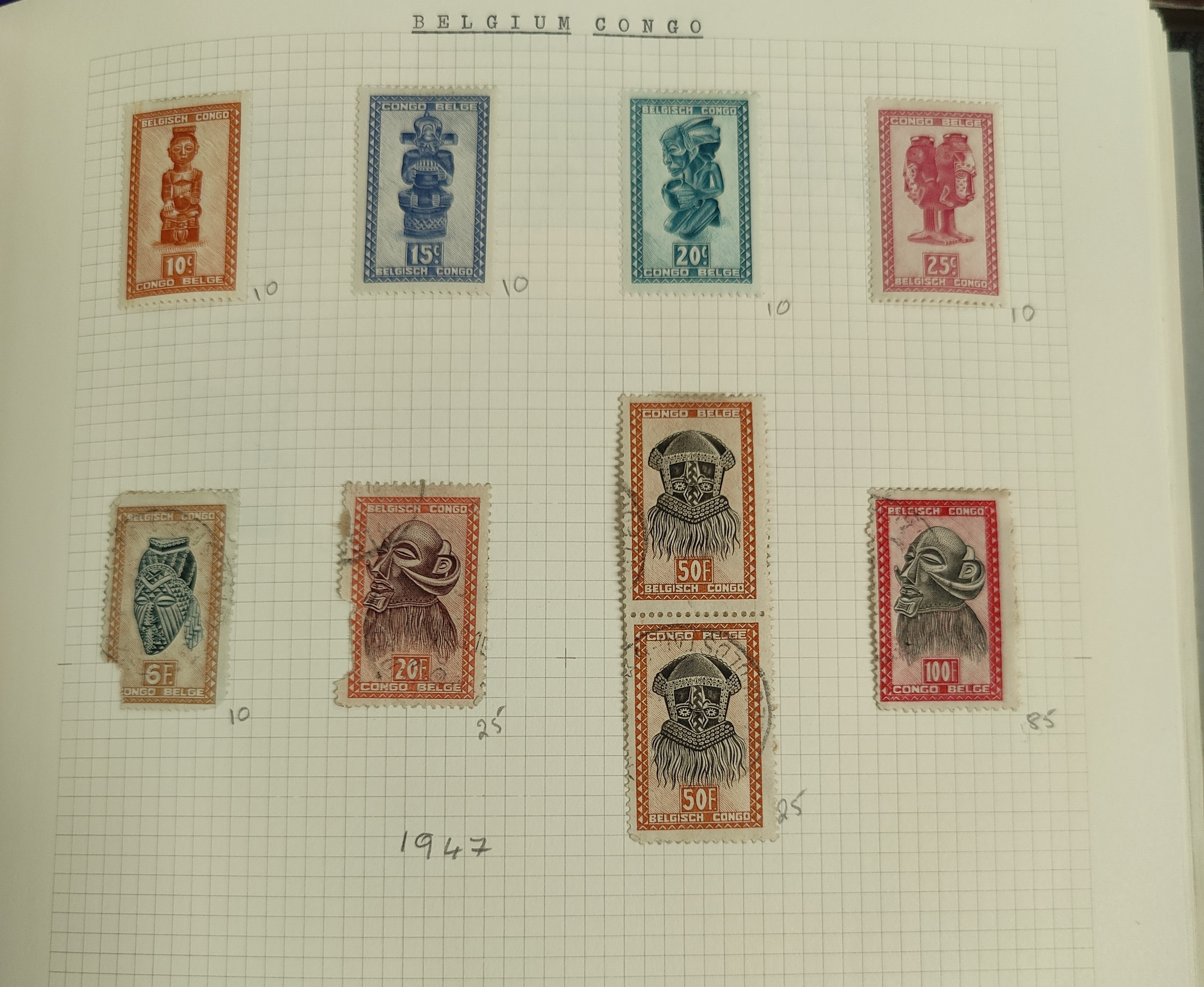 A very nicely presented world collection of stamps in 4 Stanley Gibbons Devon loose-leaf albums with - Image 6 of 23