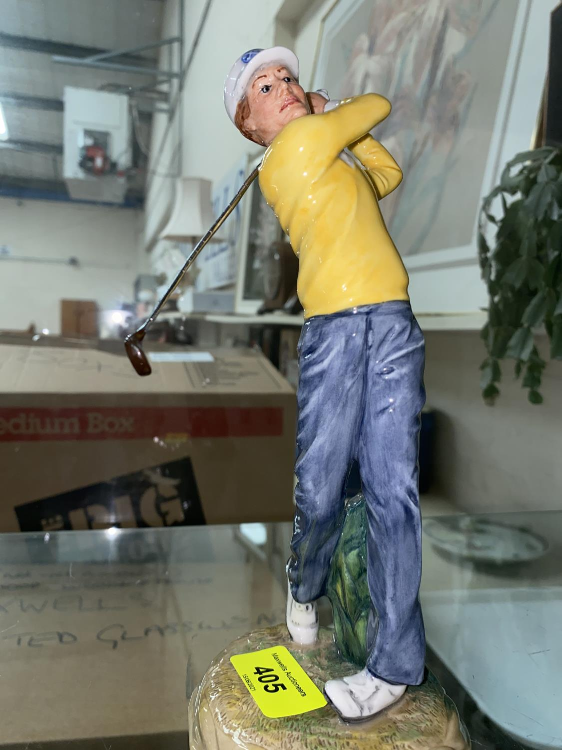 """A Royal Doulton figure """"Teeing Off"""", HN 3276"""