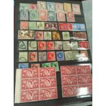 An album of world stamps