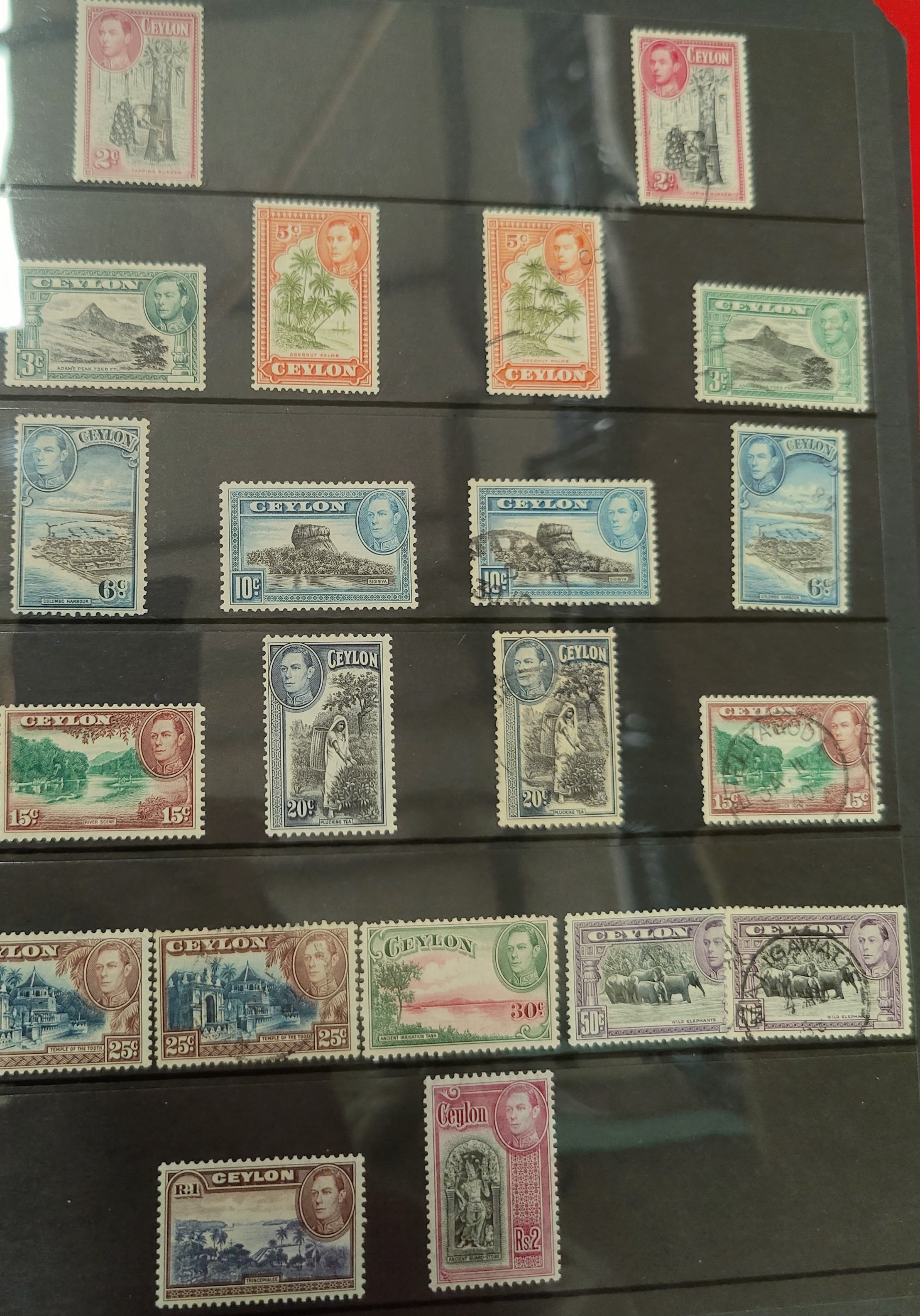 An attractive collection of British Commonwealth stamps mainly GVI M/M to include Aden, Bahamas, - Image 5 of 5