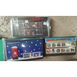 GB: a collection of 100 presentation packs of commemorative stamps, in albums and loose.