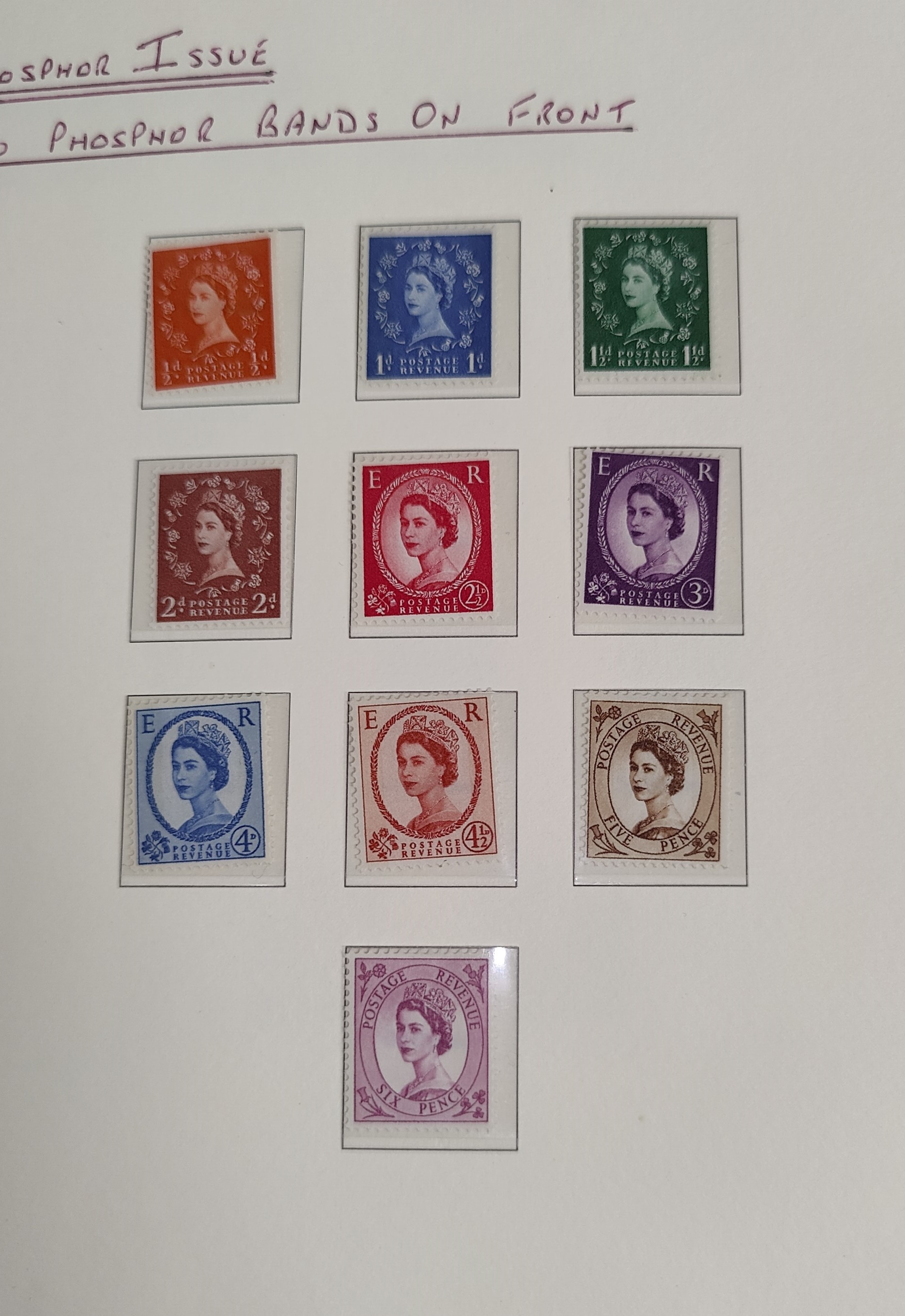 GB: A mounted mint collection of stamps, George V - QEII to include Empire Exhibition 1924/5, £1 - Image 4 of 5