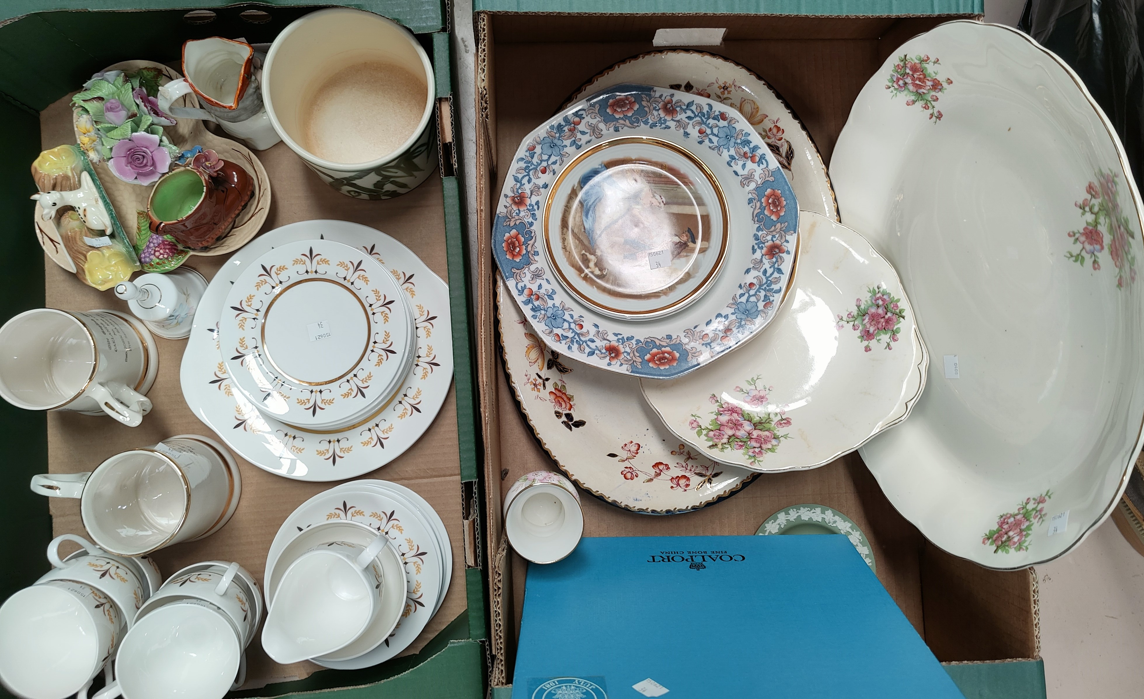 A selection of decorative china