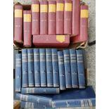 Everyman's Encyclopedia, 12 vols, 1967, and Chamber's Encyclopedia 15 volumes
