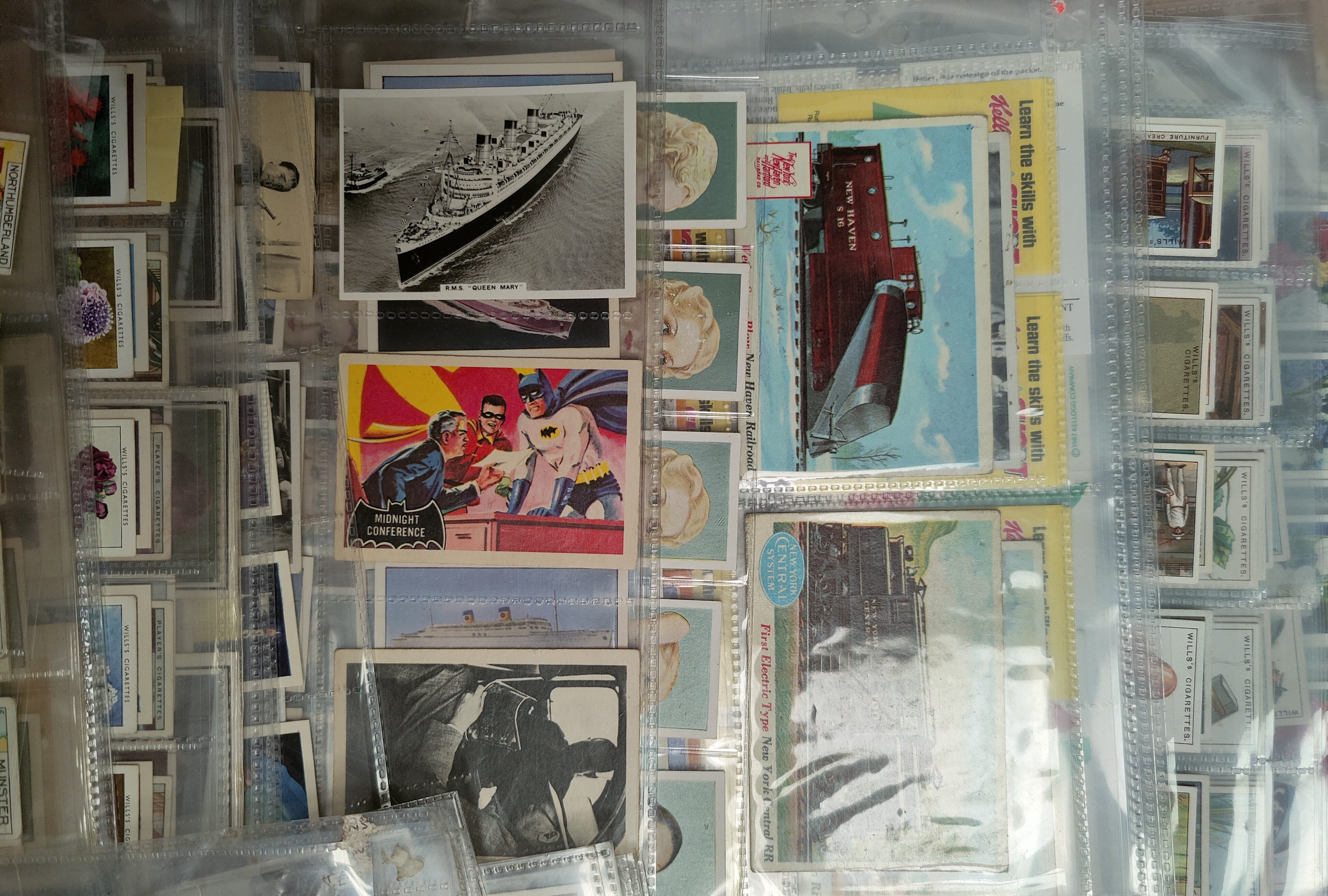 110 assorted sheets of spare and part set cigarette cards including Players, Ogden etc - Image 3 of 5