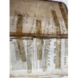 A 1774 Bible for restoration