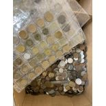 A large quantity of GB and foreign coins, approx. 15kg
