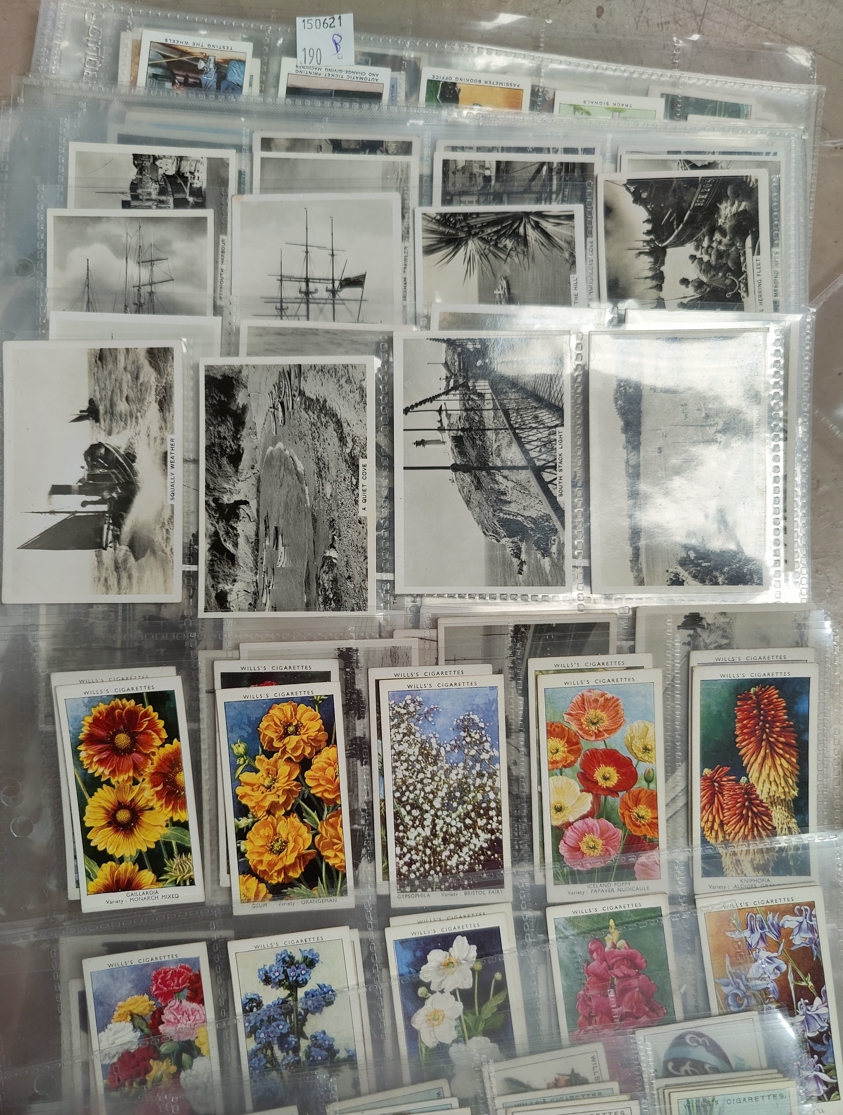 110 assorted sheets of spare and part set cigarette cards including Players, Ogden etc - Image 2 of 5