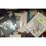 CANADA: collection of 1986 stamps, other stamps and ephemera.