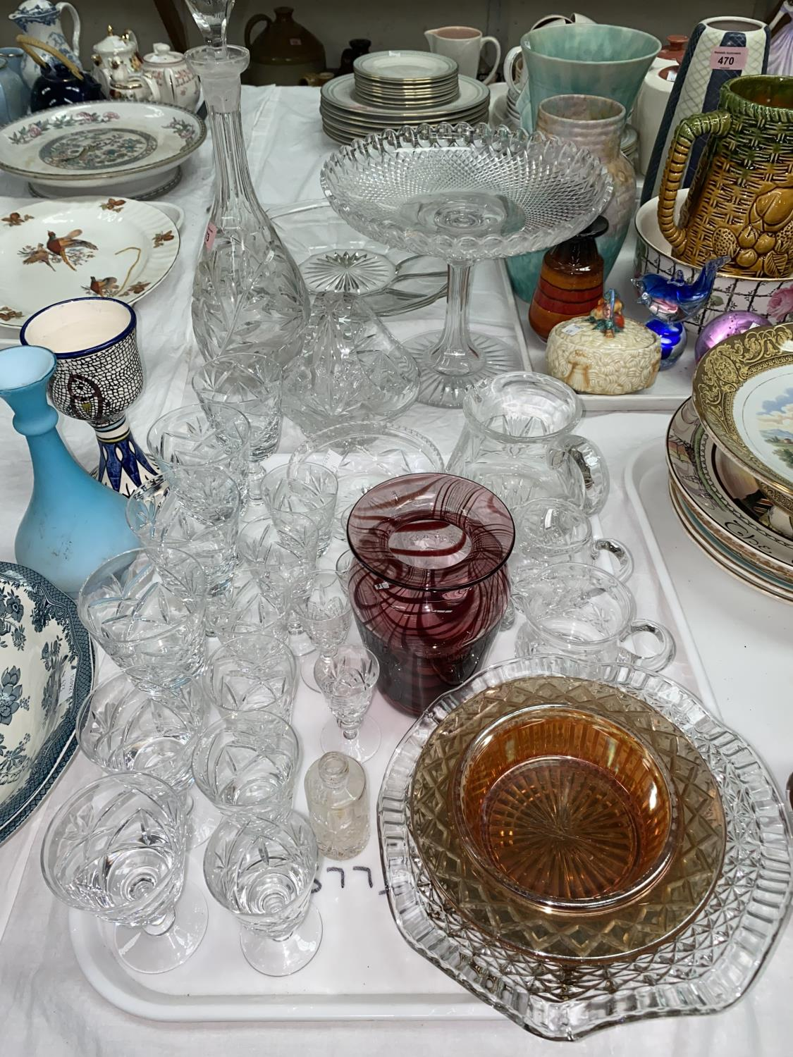 A selection of cut and other glassware; etc. - Image 3 of 3