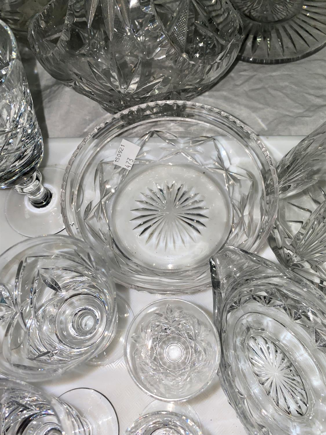 A selection of cut and other glassware; etc. - Image 2 of 3