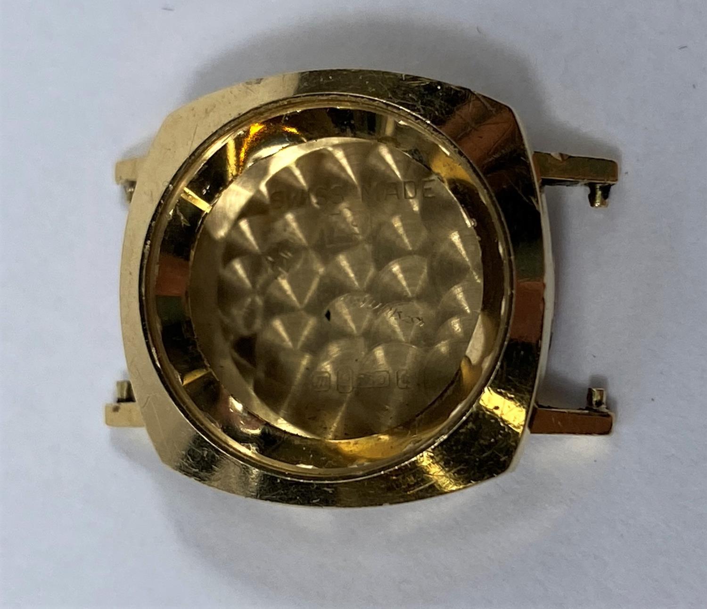 An 18 carat gold watch case, 4.1 gm