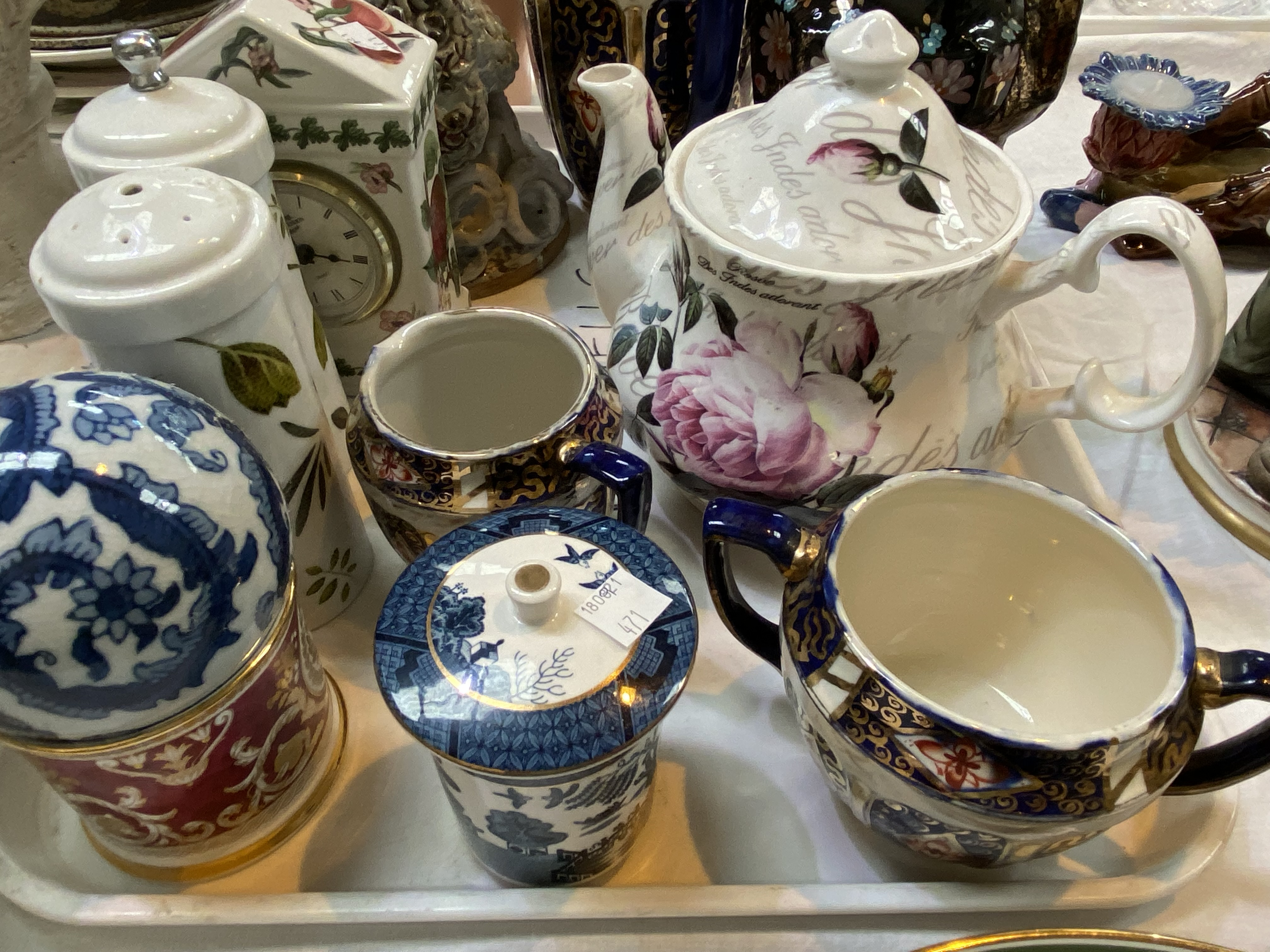 A Selection of Victorian and decorative pottery including collectors' plates, Blacko pottery sea - Image 4 of 4