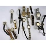 A large selection of ladies and gents watches