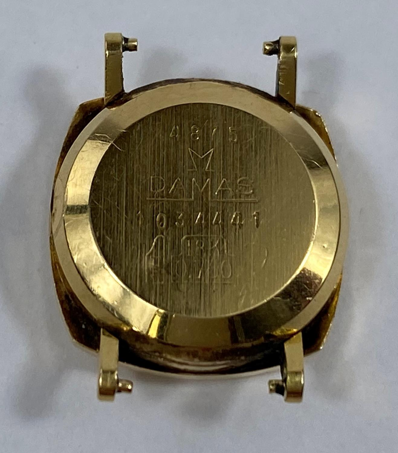 An 18 carat gold watch case, 4.1 gm - Image 2 of 2