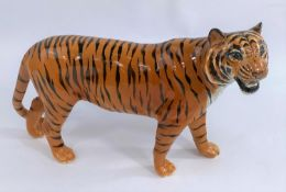 A large Beswick tiger, number: 2096