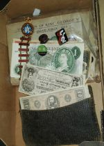 An RAC Rally of Great Britain pin badge with date sections 1971-1980, other pin badges; a