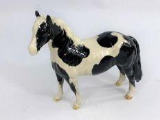 A Beswick Pinto Pony 1373 Skewbald 16.5cm