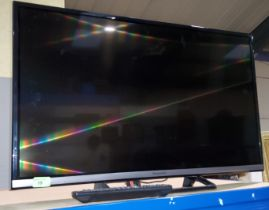 A Panasonic flatscreen TV