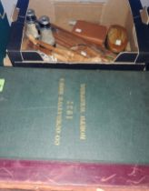 Two bound volumes of Co-operative News 1937 North Western and Sectional; a selection of collectables