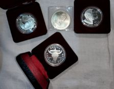 CANADA: Olympics 1976 5 $, other silver coins