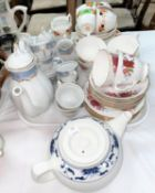 A selection of coffee and tea sets